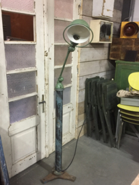Oude Jieldé lamp op voet