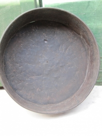 Leuke oude ronde grote bakvorm