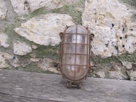 Brocante Franse kooilamp