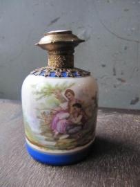 Porseleinen parfumfles