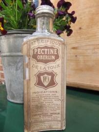 Franse medicijnfles Pectine Oberlin