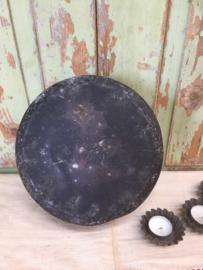 Oude ronde taartvorm