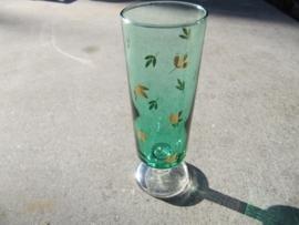 Prosecco of Champagne glas groen