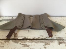 Oude beschermkappen voor schoenen