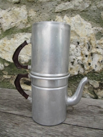 Brocante koffie- of espresso pot