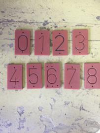 Kunststof graveer cijfers