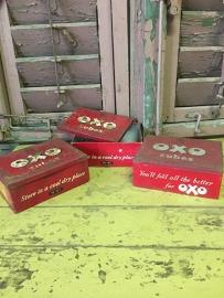 Oude OxO blikjes