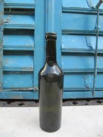 Antieke groene fles