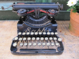 Antiek klein typemachine