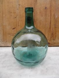 Leuke oude bolvormige gistfles van 5 liter