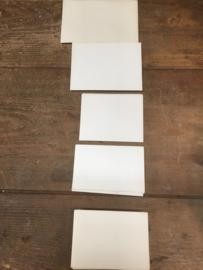 Set oude envelopjes