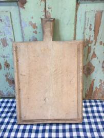 Brocante houten snijplank