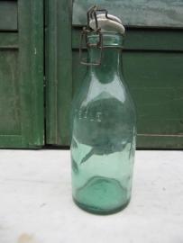 L'Idéale inmaakfles van 1 liter met porseleinen deksel