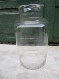 Glazen bokaal van 4 liter