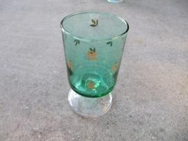 Wijn glas groen