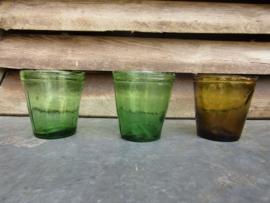 Set antieke glaasjes