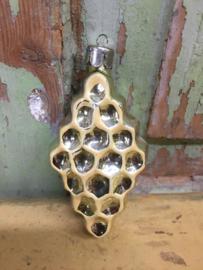Oud Kerstboom ornament honingraat