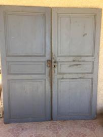 Set van 2 oude Franse deuren