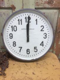 Big industrial clock