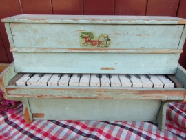 Gave oude Franse speelgoed piano