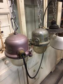 Kleine industriële hanglamp