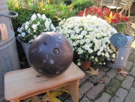 Leuke oude bowlingbal