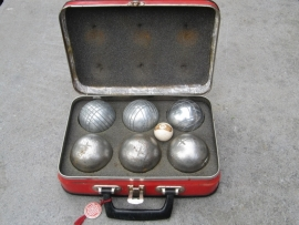 Jeu de Boulles set in koffertje