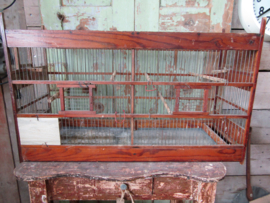 Ancient French bird cage