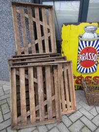 Oude houten bakkerstray