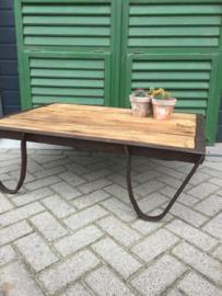 Industriële pallet (salon) tafel*