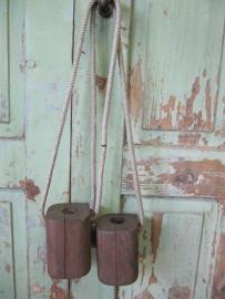 Antieke klossen/loopblokken