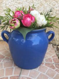 Antieke Franse blauwe grespot