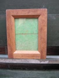 Antiek houten fotolijstje
