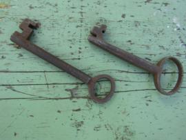 Set oude sleutels