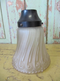 Vintage glazen lampenkapje
