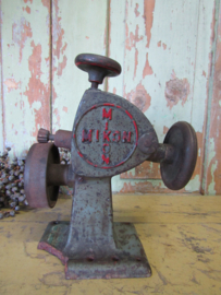 Oude schoenmakersmachine