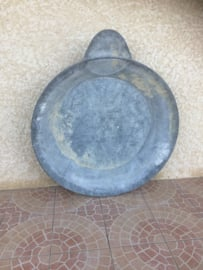 Oude Franse zinken originele (stort-douche) bak