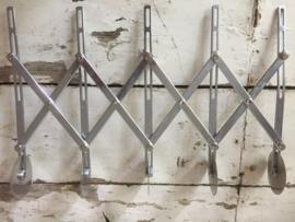 5-delige rvs deegsnijder verstelbaar