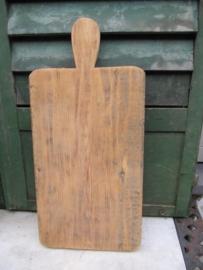 Oude snijplank rechthoekig