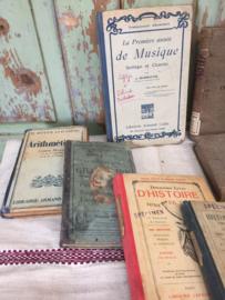 Set oude Franse boekjes