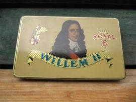 Sigarenblikje Willem II