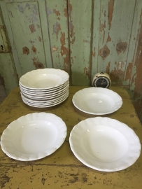 Oud keramisch bord