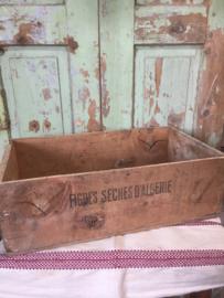 Oude vijgen kist