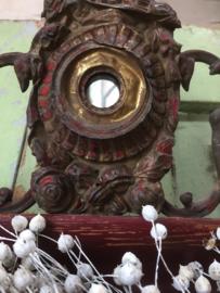 Antieke Zweedse lijst met ornament