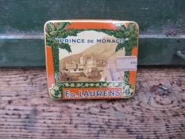 """Brocant sigaretten blikje """"Prince de Monaco"""" Ed. Laurens"""