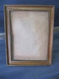 Oude houten lijst