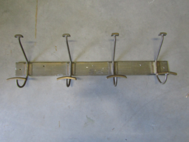 Old brass chop with 4 hooks