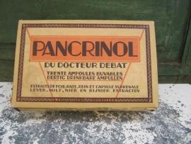 Brocante doosje voor medicijn ampullen