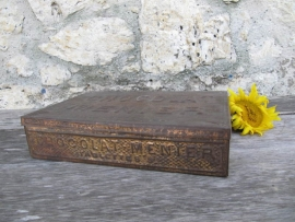 Antiek Frans blik van Menier chocolade
