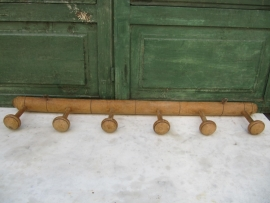 Franse houten kapstok